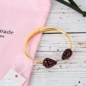 NWT Kate Spade Picnic Perfect strawberry Cuff
